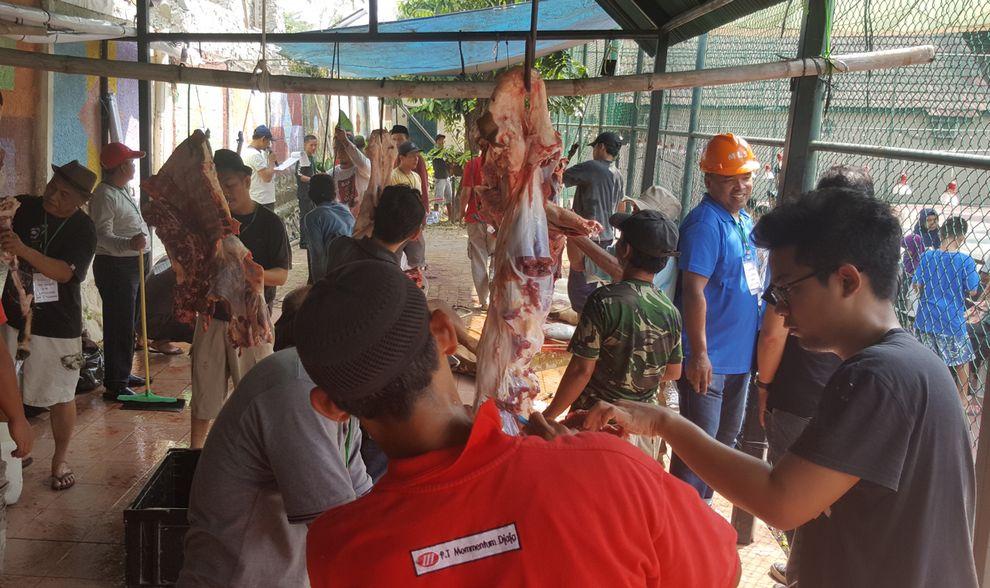 Proses pemisahan daging